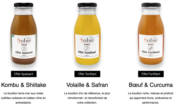 Produits Bouillons Sobie-Bienfait