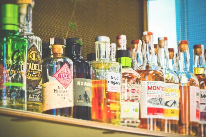 Bouteilles, De L'Alcool, Boissons, Bar, Alcool